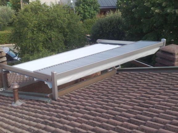 copertura di un terrazzo a tasca con med unica 130 di gibus modello ...